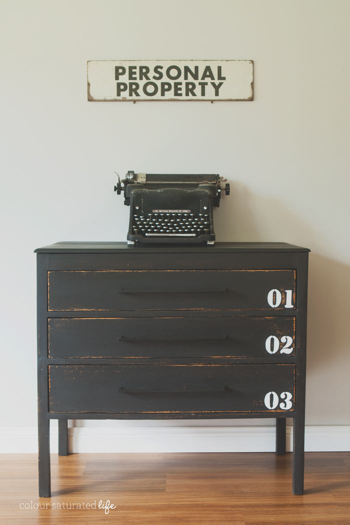 Colour Saturated Life Pottery Barn Industrial Dresser