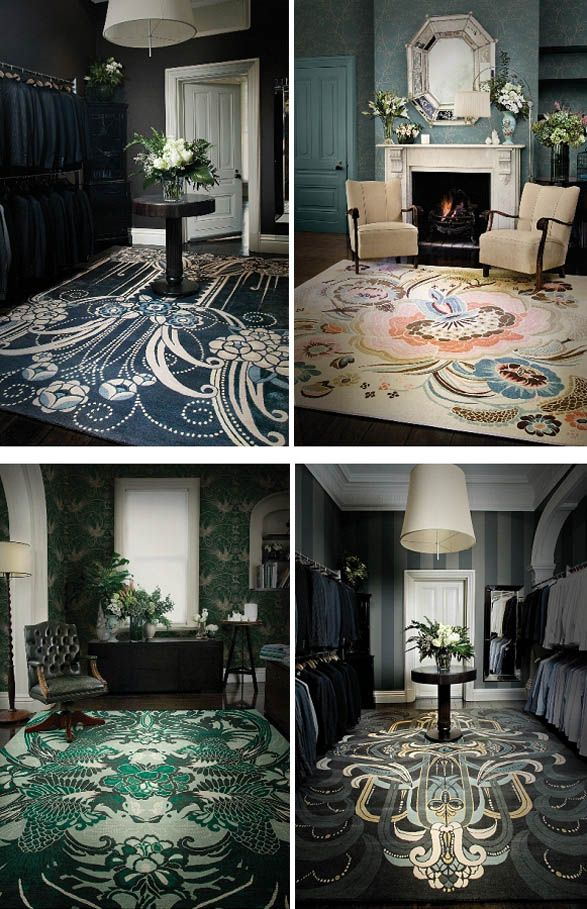 "The Great Gatsby (2013) | Production Designer Catherine Martin has launched a collection of rugs based on her designs for the film. The ""Deco Collection"" is a collaboration with Designer Rugs. She will also launch a collection of Gatsby-inspired wallpaper"