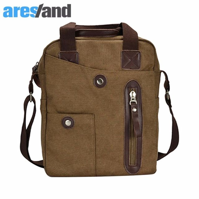 Fair price ARESLAND Brand Muzee Business Casual Canvas Handbag Tote Bag Crossbody Bag Shoulder Bag Men's Bag just only $24.04 with free shipping worldwide  #crossbodybagsformen Plese click on picture to see our special price for you