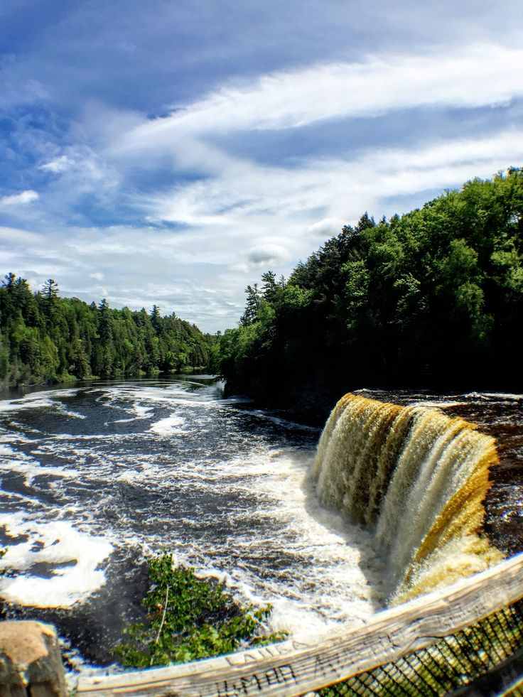 The centerpiece of Tahquamenon Falls State Park's 50,000 acres is the Tahquamenon River with its breathtaking waterfalls. We had a wonderful time exploring the park in Michigan's Upper Peninsula.