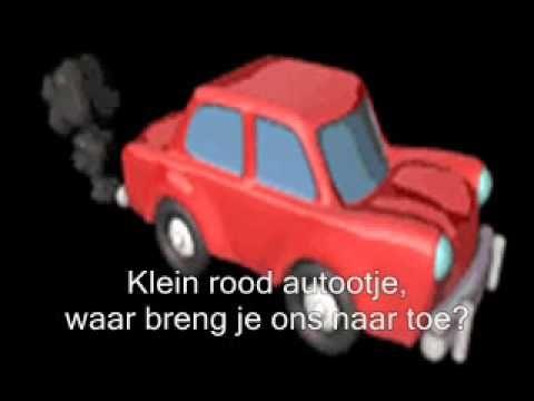 ▶ klein rood autootje - YouTube