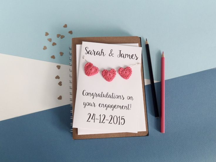 8 best personalised engagement cards images on pinterest