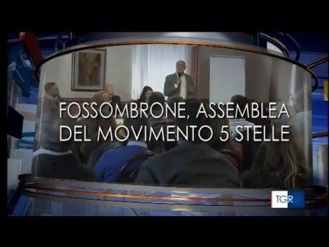 Fossombrone - Incontro regionale M5S Marche - TG3