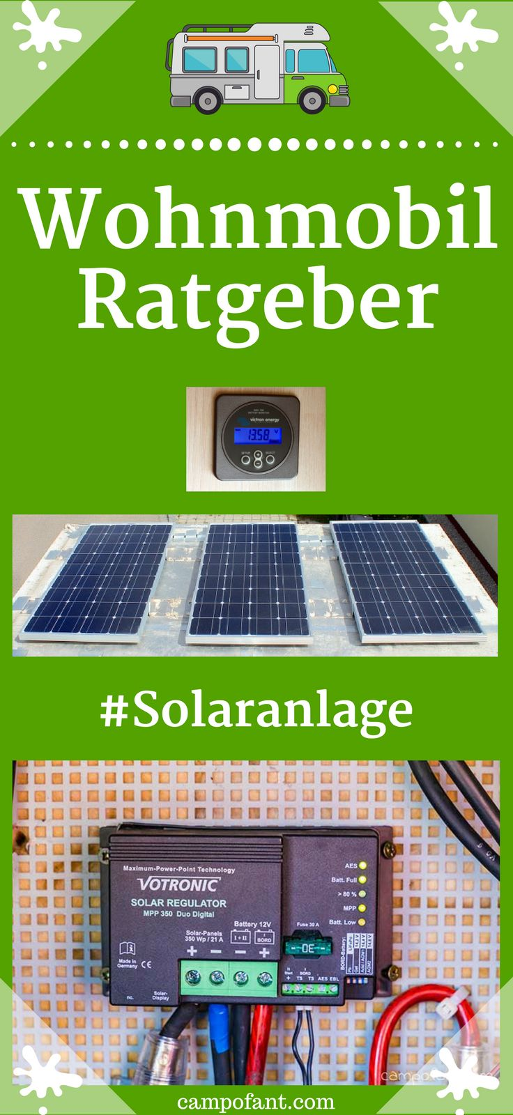 wohnmobil solaranlage berechnen mit dem solarrechner rv remodle buses van 39 s and all so. Black Bedroom Furniture Sets. Home Design Ideas