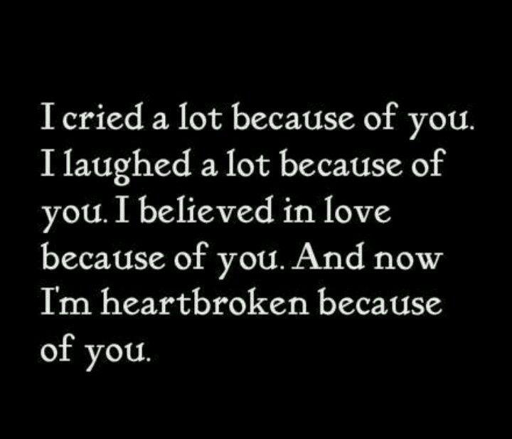 17 Best Sad Heartbreak Quotes On Pinterest
