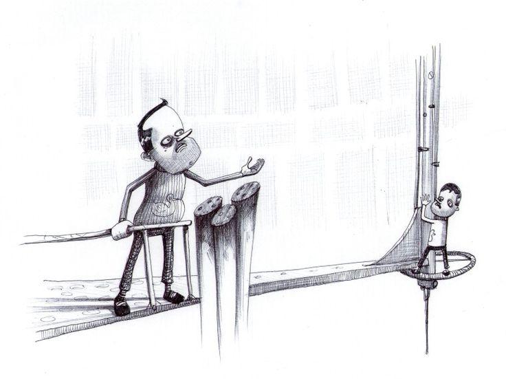 'The Revelation'. Illustration by Chris Harrendence