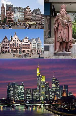 Frankfurt, Germany - it's not just the home of the European Central Bank.  The area of Sachsenhausen is just a wonderful place to walk the small streets & beer gardens.