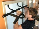 Doorway pull up bar || such a useful piece of equipment to have in the house