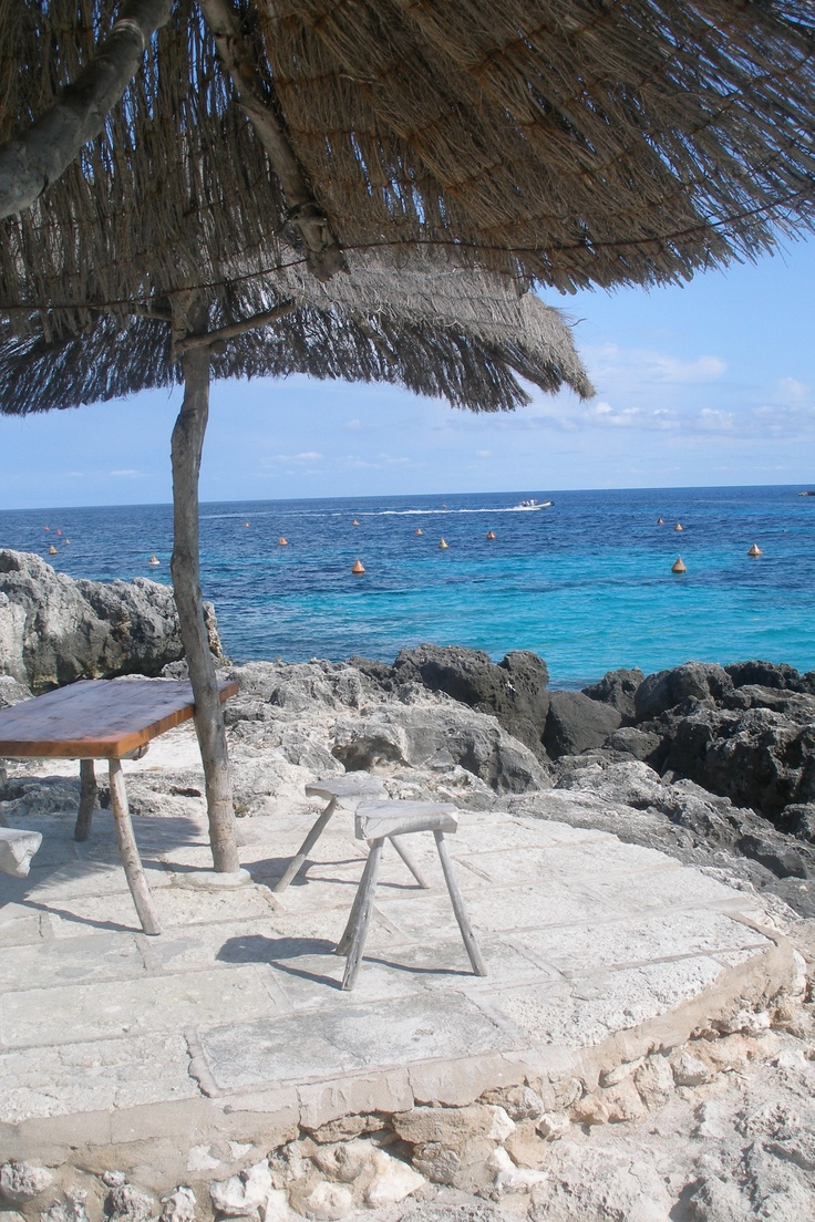 Binibeca, Menorca- Our sunny special place - Very fond memories. Many an hour sat here, xxx
