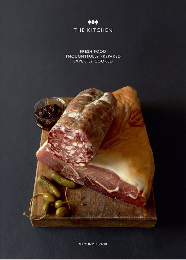 JOHN LEWIS   olivia bossy. Clean food photography