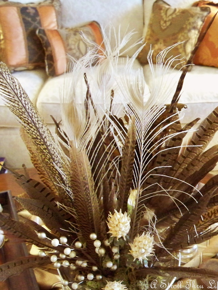 17 Best Images About Pheasant Feathers On Pinterest Fall Flowers Floral Arrangements And