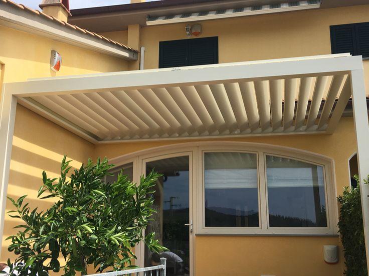 Pergolato a ventilazione naturale