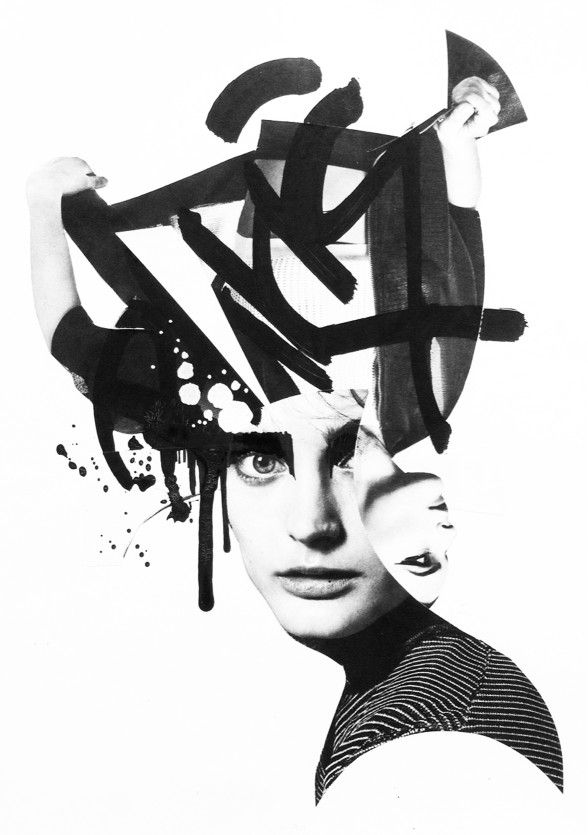 Acid reality: Neon collage art by Lauro Samblás | Photography | HUNGER TV