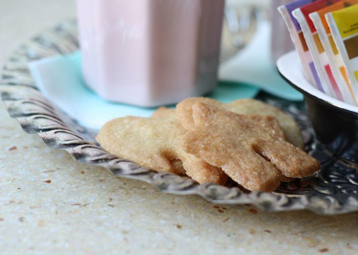 hmmm... zelfgebakken koekjes. Kop thee erbij, genieten maar!