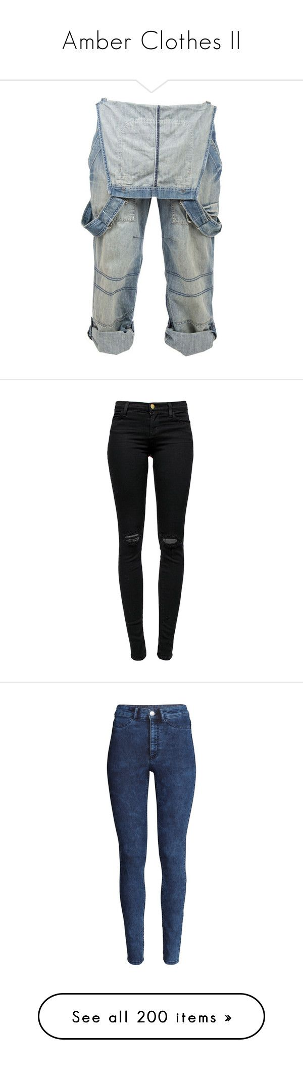 """""""Amber Clothes II"""" by arileadre ❤ liked on Polyvore featuring pants, bottoms, jeans, overalls, mens jeans, calças, j brand jeans, distressed jeans, black distressed jeans and skinny jeans"""