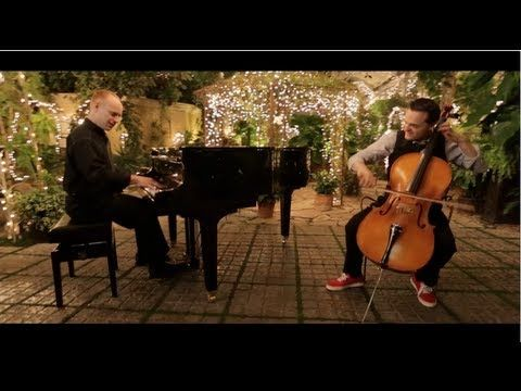 Man, the piano guys are amazing!! They always find the right songs!! Check out the one where Megan Nicole and Alex Goot sing!! They have amazing voices!!