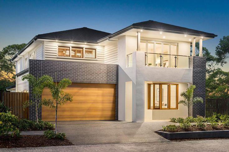 Barossa Two Storey Home Design - Apollo Facade #mcdonaldjones #mcdonaldjoneshomes #architecture #facade