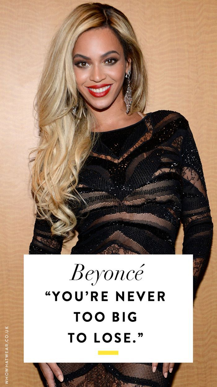 Beyoncé Quotes I Always Go Back to for Motivation