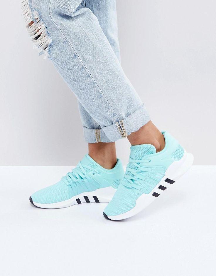 #ASOS - #adidas adidas Originals EQT Racing Adv Sneakers In Aqua - Blue -