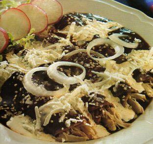 Receta enchiladas de mole PLATILLO TIPICO DE TEPATITLAN