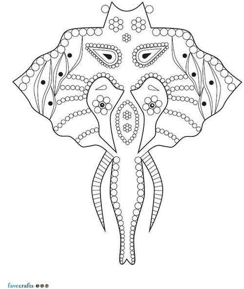 coloring pages for adults abstract elephant | 17+ images about Elephant Coloring Pages for Adults on ...