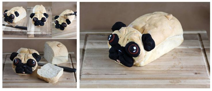 This Adorable Pug Bread Is Just What You Need