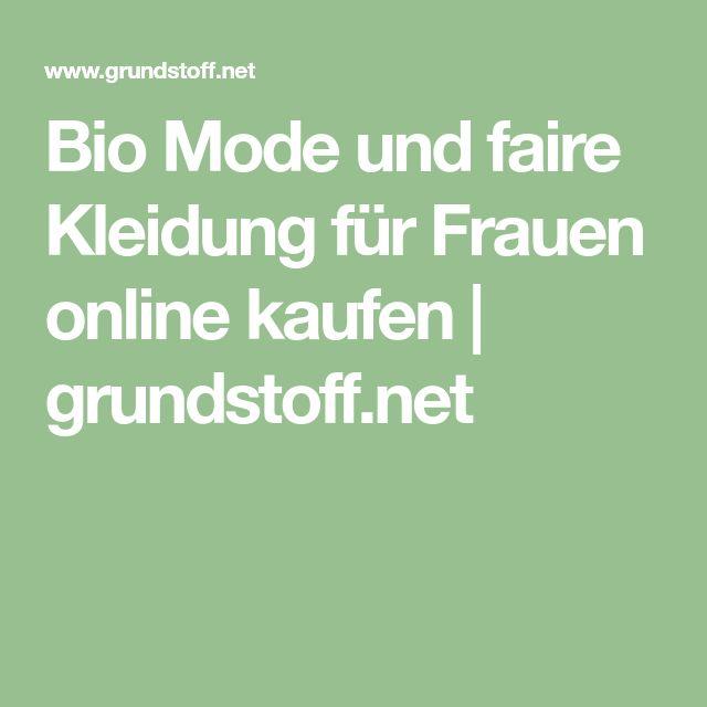 Bio Mode und faire Kleidung für Frauen online kaufen | grundstoff.net