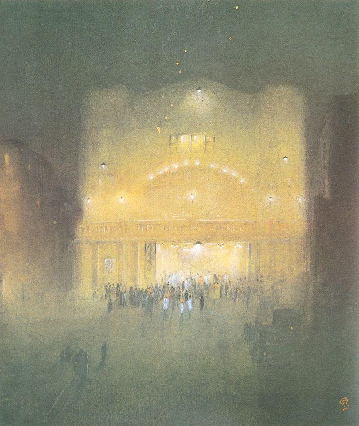 Gaganendranath Tagore (1867-1938) - Madane Theatre