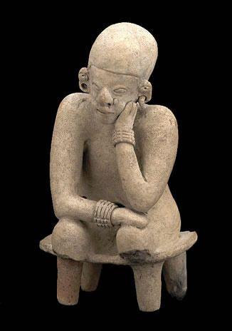 Tumaco  figura antropomorfa (700 bc-350 ad) - costa pacifica  (Tumaco) - periodo inguapi  |