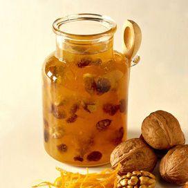 confettura+di+arance+e+noci+ Ingredienti Arance+2.50+kg+ Noci+100+gr+ Uva+sultanina-uvetta+o+uva+secca+160+gr+ Zucchero+1.30+kg+Cointreau+1/2+bicchieriVuoi+provare?+Allora+vai+alla
