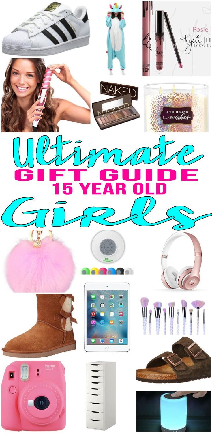BEST Gifts 15 Year Old Girls! Top gift ideas that 15 yr old girls will love! Find presents & gift suggestions for a girls 15th birthday, Christmas or just because.Cool gifts for teen girls on their fifteenth bday.Wondering what to buy a 15 yr old girl for her birthday? We have you covered- get popular gift ideas- from makeup to electronics & more - find the best gift ideas for a teenage girl! Amazing products for daughters, best friends & more.Cute & creative ideas - Shop what's trending…