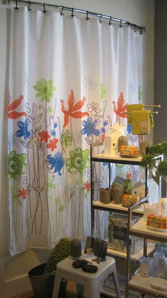 16 best Inspiring Shower Curtains images on Pinterest   Shower ...