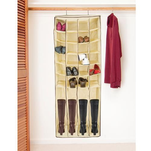 closet rod boot and shoe cubby get organized