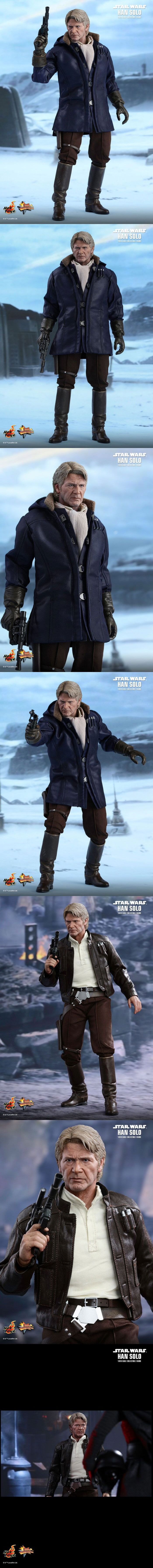 [Star Wars: The Force Awakens - 1/6th scale Han Solo Figure]