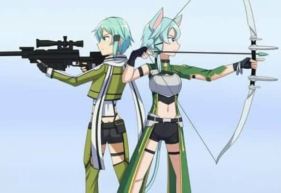 Sinon (Asada Shino) - By Sword Art Online ღ