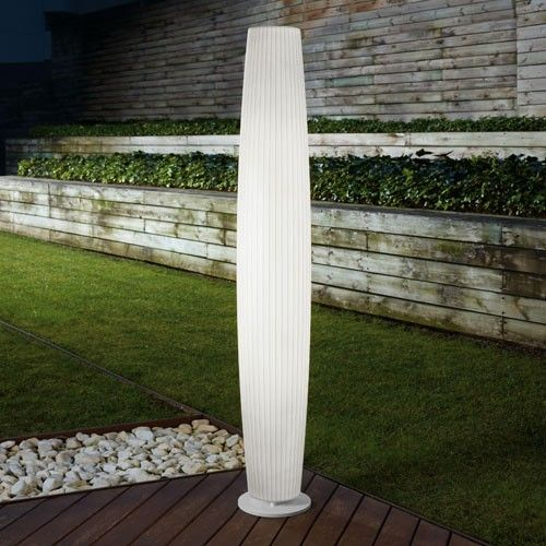 The Maxi-P Outdoor Floor Lamp is tall and elegant. http://www.ylighting.com/blog/modern-outdoor-lighting-from-bover/