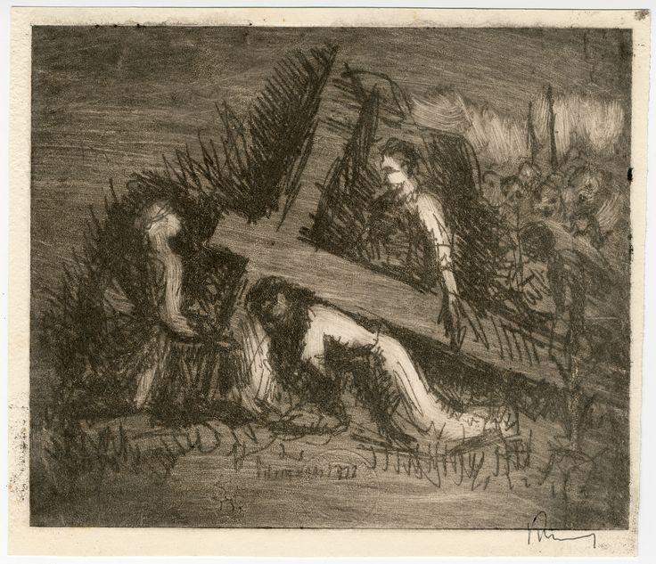 Kristus klesá pod křížem - Christ Falling on the Way to Calvary