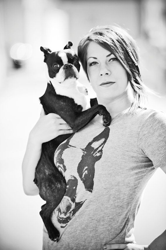 Boston Terrier Shirt - Its funny because I have the same thing
