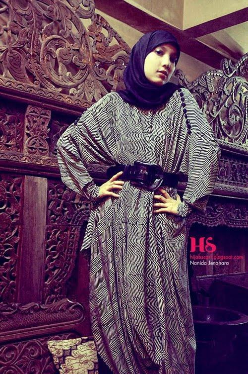 Style Spotted : Nanida Jenahara Part I | Hijab Scarf