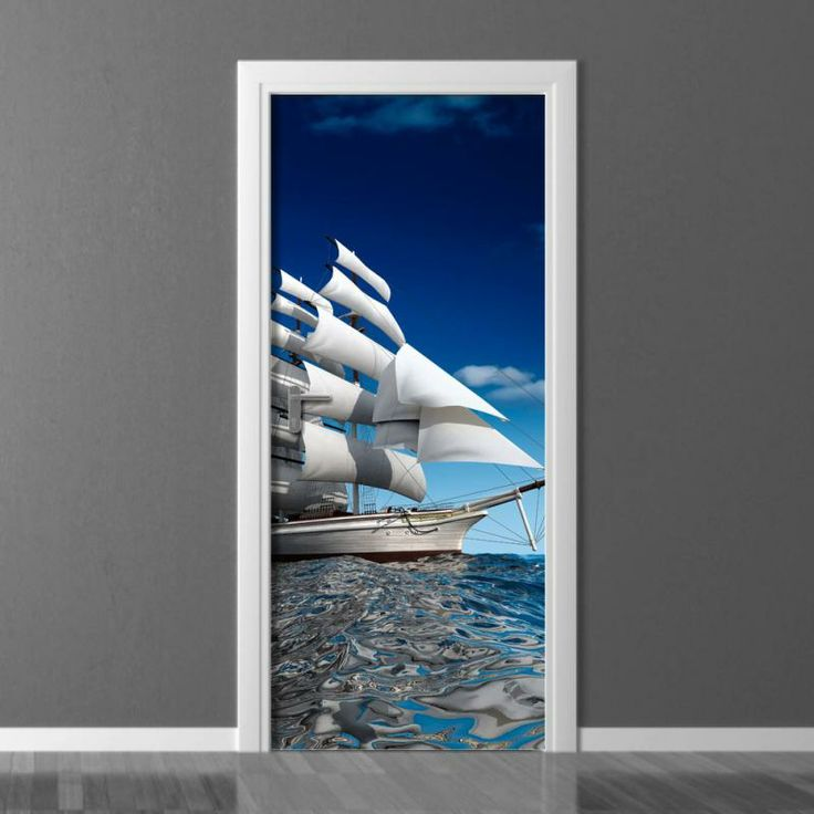 Door Sticker / Door Mural #doorsticker #doormural #door #bathroom | Art  Decorators