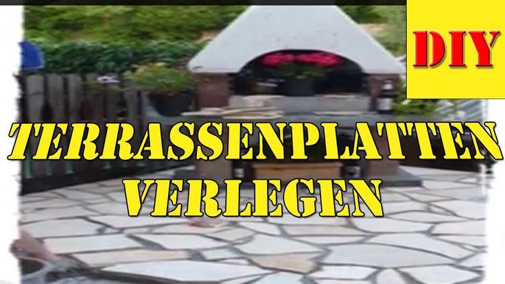 Unique Mein sch ner Garten Heute Terrassenplatten Verlegen Naturstein Bruchs