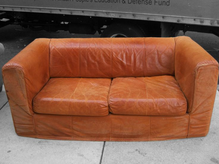 Good Looking Orange Leather Sofas You Must Have : Wonderful Uhuru Orange  Leather Sofa With