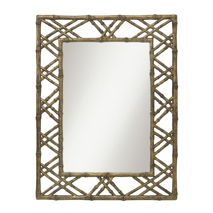 Bamboo Trellis MirrorInspired By Luxury Hotels In Tropical Locales, This  Mirror Will Take You Away