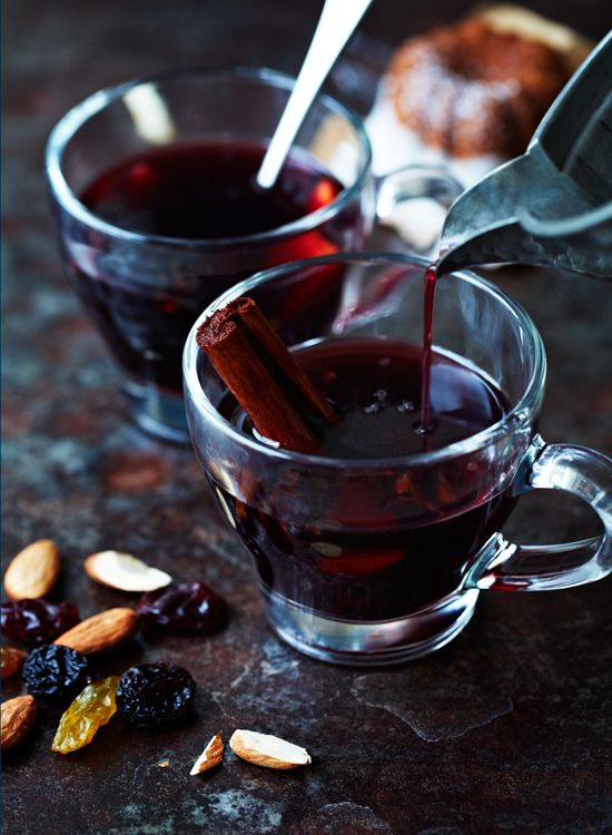 Glögg (Mulled and Spiced Wine) | 13th of December marks one of Sweden's big yearly celebrations __ a cosy season and Swedes warm up with glögg and gingerbread.