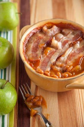 Apple Baked Bean Casserole #pauladeen