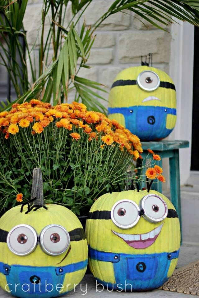 These are the greatest pumpkins ever.