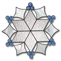 Free Printable Stained Glass Patterns | Free Pattern, Snow Flake - Glass Crafters Stained Glass Supplies