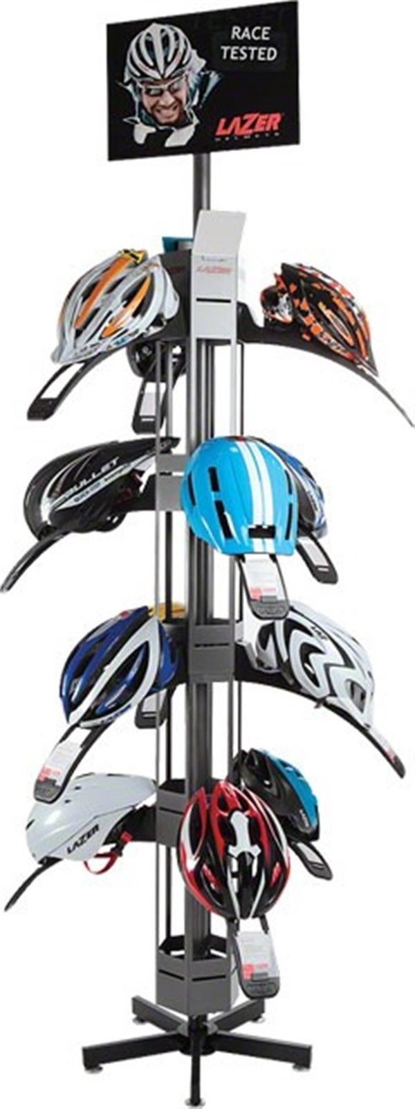 Helmet Accessories 177865: Lazer Helmet Display Tower 1 Of 2 BUY IT NOW ONLY: $221.39