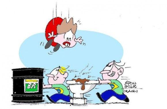 Dilma em queda livre...