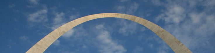Looking up at the Gateway Arch St.Louis  :) been here!!